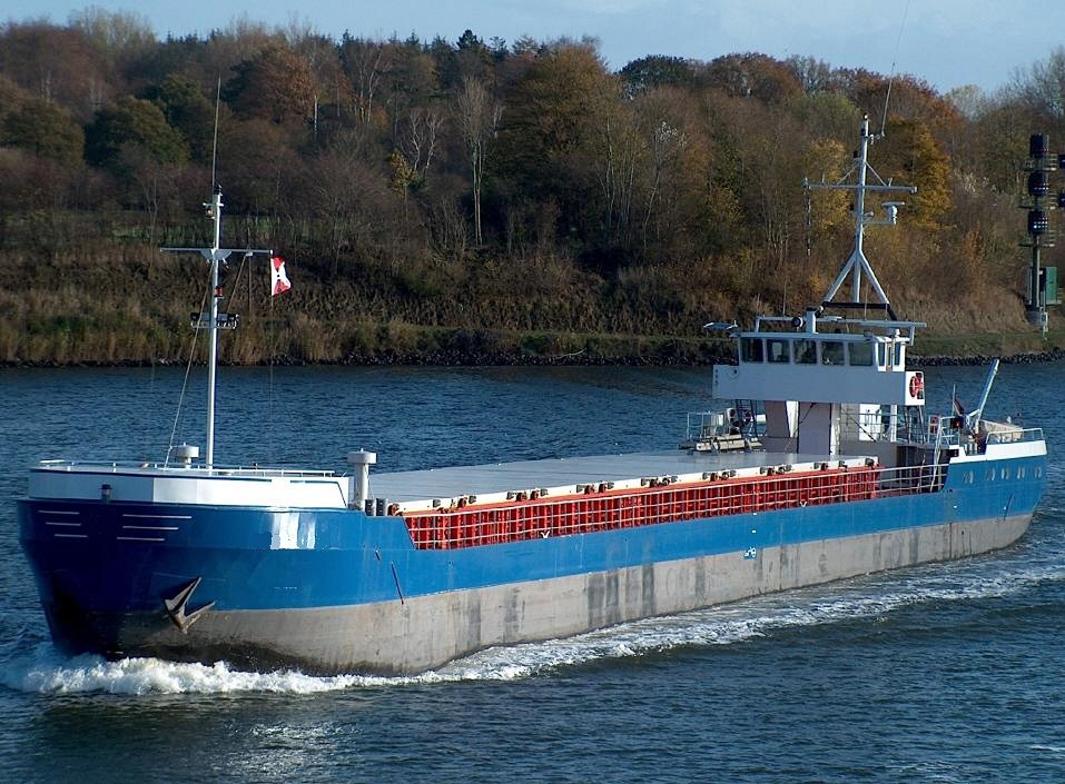 1400 Mtns DWT sea river vessel for sale